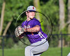 Cortland Crush Steven Boscia (19) pitching against the Syracuse Salt Cats at OCC Turf Field in Syracuse, New York on Saturday, July 8, 2017. Cortland won 9-3.