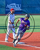 Cortland Crush David White (31) heading for Home to score a run against the Syracuse Salt Cats at OCC Turf Field in Syracuse, New York on Saturday, July 8, 2017. Cortland won 9-3.