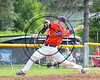 Cortland Crush Joseph Rogers (9) pitching against the Sherrill Silversmiths on Greg's Field at Beaudry Park in Cortland, New York on Thursday, July 10, 2017. Cortland won 14-7.