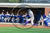 Cortland Crush Joe Assenza (2) hits the ball against the Syracuse Salt Cats at OCC Turf Field in Syracuse, New York on Sunday, July 16, 2017. Syracuse won 9-4.