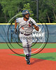 Cortland Crush David White (31) running the bases against the Syracuse Salt Cats at OCC Turf Field in Syracuse, New York on Sunday, July 16, 2017. Syracuse won 9-4.