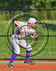 Cortland Crush Anthony May (27) lining up a throw to First Base against the Syracuse Salt Cats at OCC Turf Field in Syracuse, New York on Sunday, July 16, 2017. Syracuse won 9-4.