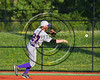 Cortland Crush Anthony May (27) throwing the ball against the Syracuse Salt Cats at OCC Turf Field in Syracuse, New York on Sunday, July 16, 2017. Syracuse won 9-4.