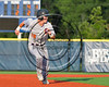 Cortland Crush TJ Wegmann (10) running the bases against the Syracuse Salt Cats at OCC Turf Field in Syracuse, New York on Sunday, July 16, 2017. Syracuse won 9-4.