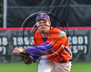 Cortland Crush Joshua Delaney (39) pitching against the Wellsville Nitros at Wallace Field on the SUNY Cortland campus in Cortland, New York on Friday, July 21, 2017. Cortland won 6-5 in 10 innings.