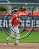 Cortland Crush Tyler Schmidt (21) throwing the ball against the Wellsville Nitros at Wallace Field on the SUNY Cortland campus in Cortland, New York on Friday, July 21, 2017. Cortland won 6-5 in 10 innings.