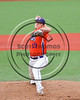 Cortland Crush Steven Boscia (19) pitching against the Syracuse Spartans at OCC Turf Field in Syracuse, New York on Monday, July 24, 2017. Syracuse won 3-2 in 10 innings.