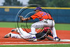 Cortland Crush David White (31) playing First Base against the Syracuse Spartans at OCC Turf Field in Syracuse, New York on Monday, July 24, 2017. Syracuse won 3-2 in 10 innings.