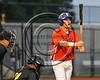 Cortland Crush Joseph Tevlin (12) before an at bat against the Syracuse Spartans at OCC Turf Field in Syracuse, New York on Monday, July 24, 2017. Syracuse won 3-2 in 10 innings.
