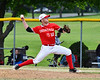 Onondaga Flames Casey Kretsch (10) pitching against the Cortland Crush on Greg's Field at Beaudry Park in Cortland, New York on Sunday, June 3, 2018. Cortland won 7-5.