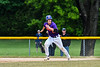 Cortland Crush Jimmy Tatum (17) running the bases against the Onondaga Flames on Greg's Field at Beaudry Park in Cortland, New York on Sunday, June 3, 2018. Cortland won 7-5.