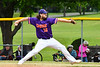 Cortland Crush Jake Rajsigl (12) pitching against the Onondaga Flames on Greg's Field at Beaudry Park in Cortland, New York on Sunday, June 3, 2018. Cortland won 7-5.