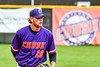 Cortland Crush Alex Larson (26) pitching against the Onondaga Flames on Greg's Field at Beaudry Park in Cortland, New York on Sunday, June 3, 2018. Cortland won 7-5.