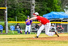 Onondaga Flames Jimmy Flahive (26) pitching against the Cortland Crush on Greg's Field at Beaudry Park in Cortland, New York on Sunday, June 3, 2018. Cortland won 7-5.
