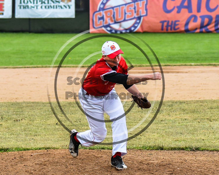 Cortland Crush hosted the Onondaga Flames on Greg's Field at Beaudry Park in Cortland, New York on Sunday, June 3, 2018. Cortland won 7-5.