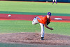 Cortland Crush Jordan Christian (31) pitching against the Onondaga Flames at OCC Turf Field in Syracuse, New York on Fridday, June 8, 2018. Cortland won 6-4.