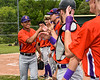 Cortland Crush Justin Pacheco (4) being introduced before playing the Sherrill Silversmiths at the LaFayette Junior and Senior High School Field in LaFayette, New York on Saturday, June 9, 2018.