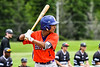 Cortland Crush Iset Maldonado (1) at bat against the Sherrill Silversmiths at the LaFayette Junior and Senior High School Field in LaFayette, New York on Saturday, June 9, 2018. Cortland won 12-6.