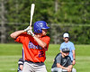 Cortland Crush Benjamin Horsfall (22) at bat against the Sherrill Silversmiths at the LaFayette Junior and Senior High School Field in LaFayette, New York on Saturday, June 9, 2018. Cortland won 12-6.