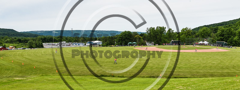 Cortland Crush played the Sherrill Silversmiths at the LaFayette Junior and Senior High School Field in LaFayette, New York on Saturday, June 9, 2018. Cortland won 12-6.