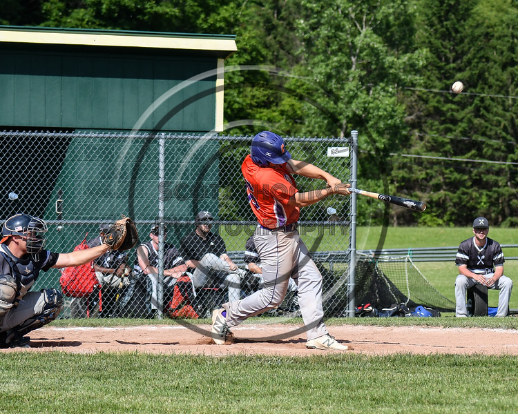 Cortland Crush visited the Sherrill Silversmiths at the LaFayette Junior and Senior High School Field in LaFayette, New York on Saturday, June 9, 2018. Cortland won 12-6.