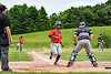 Cortland Crush Iset Maldonado (1) scores a run against the Sherrill Silversmiths at the LaFayette Junior and Senior High School Field in LaFayette, New York on Saturday, June 9, 2018. Cortland won 12-6.