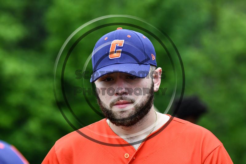 Cortland Crush Garrett Hunter (40) at the LaFayette Junior and Senior High School Field in LaFayette, New York on Saturday, June 9, 2018.