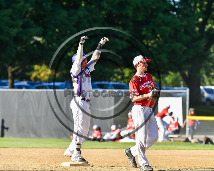Cortland Crush hosted the Onondaga Flames on Greg's Field at Beaudry Park in Cortland, New York on Friday, June 15, 2018. Onondaga won 8-7.