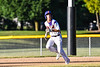 Cortland Crush Anthony Cieszko (3) running the bases against the Onondaga Flames on Greg's Field at Beaudry Park in Cortland, New York on Friday, June 15, 2018. Onondaga won 8-7.