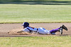 Cortland Crush Nelson Laviosa (10) safely slides into 2nd Base against the Onondaga Flames on Greg's Field at Beaudry Park in Cortland, New York on Friday, June 15, 2018. Onondaga won 8-7.