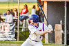 Cortland Crush Alex Flock (2) at bat against the Onondaga Flames on Greg's Field at Beaudry Park in Cortland, New York on Friday, June 15, 2018. Onondaga won 8-7.