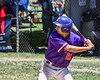 Cortland Crush Joe Palmo (21) at bat against the Syracuse Salt Cats on Greg's Field at Beaudry Park in Cortland, New York on Saturday, June 16, 2018. Cortland won 10-0.