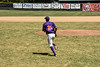 Cortland Crush Joe Palmo (21) being introduced before playing the Syracuse Salt Cats on Greg's Field at Beaudry Park in Cortland, New York on Saturday, June 16, 2018.