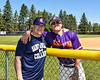 Cortland Crush Tyler McKeon (7) and his Dad on Greg's Field at Beaudry Park in Cortland, New York on Saturday, June 16, 2018.