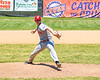 Syracuse Salt Cats player pitching against the Cortland Crush on Greg's Field at Beaudry Park in Cortland, New York on Saturday, June 16, 2018. Cortland won 10-0.
