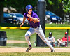 Cortland Crush Jimmy Tatum (17) running the bases against the Syracuse Salt Cats on Greg's Field at Beaudry Park in Cortland, New York on Saturday, June 16, 2018. Cortland won 10-0.