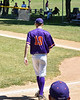 Cortland Crush Jonathan Triesler (19) being introduced before playing the Syracuse Salt Cats on Greg's Field at Beaudry Park in Cortland, New York on Saturday, June 16, 2018.