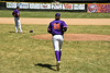 Cortland Crush Alex Larson (26) being introduced before playing the Syracuse Salt Cats on Greg's Field at Beaudry Park in Cortland, New York on Saturday, June 16, 2018.