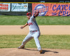 Syracuse Salt Cats Michael Doherty (32) pitching against the Cortland Crush on Greg's Field at Beaudry Park in Cortland, New York on Saturday, June 16, 2018. Syracuse won 8-6.