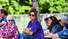 Cortland Crush fans watching the game against the Syracuse Salt Cats on Greg's Field at Beaudry Park in Cortland, New York on Saturday, June 16, 2018. Syracuse won 8-6.
