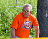 Cortland Crush Dad watching the game against the Syracuse Salt Cats on Greg's Field at Beaudry Park in Cortland, New York on Saturday, June 16, 2018. Syracuse won 8-6.
