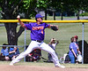 Cortland Crush Justin Pacheco (4) pitching against the Syracuse Salt Cats on Greg's Field at Beaudry Park in Cortland, New York on Saturday, June 16, 2018. Syracuse won 8-6.