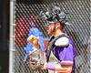 Cortland Crush Catcher Justin Valentino (15) getting ready to play against the Syracuse Salt Cats on Greg's Field at Beaudry Park in Cortland, New York on Saturday, June 16, 2018. Syracuse won 8-6.