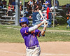 Cortland Crush Tyler McKeon (7) warming up before his at bat against the Syracuse Salt Cats on Greg's Field at Beaudry Park in Cortland, New York on Saturday, June 16, 2018. Syracuse won 8-6.