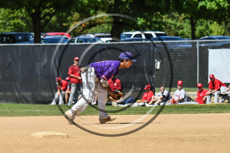 Cortland Crush Julio Creazzola (11) throwing the ball against the Syracuse Salt Cats on Greg's Field at Beaudry Park in Cortland, New York on Saturday, June 16, 2018. Syracuse won 8-6.