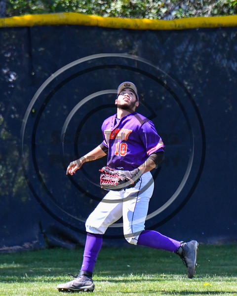 Cortland Crush Nelson Laviosa (10) catches and throws the ball against the Syracuse Salt Cats on Greg's Field at Beaudry Park in Cortland, New York on Saturday, June 16, 2018. Syracuse won 8-6.