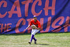 Cortland Crush Joe Palmo (21) catches the ball against the Sherrill Silversmiths on Greg's Field at Beaudry Park in Cortland, New York on Sunday, June 17, 2018. Cortland won 8-6.