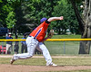 Cortland Crush Michael Doherty (32) pitching against the Sherrill Silversmiths on Greg's Field at Beaudry Park in Cortland, New York on Sunday, June 17, 2018. Cortland won 8-6.
