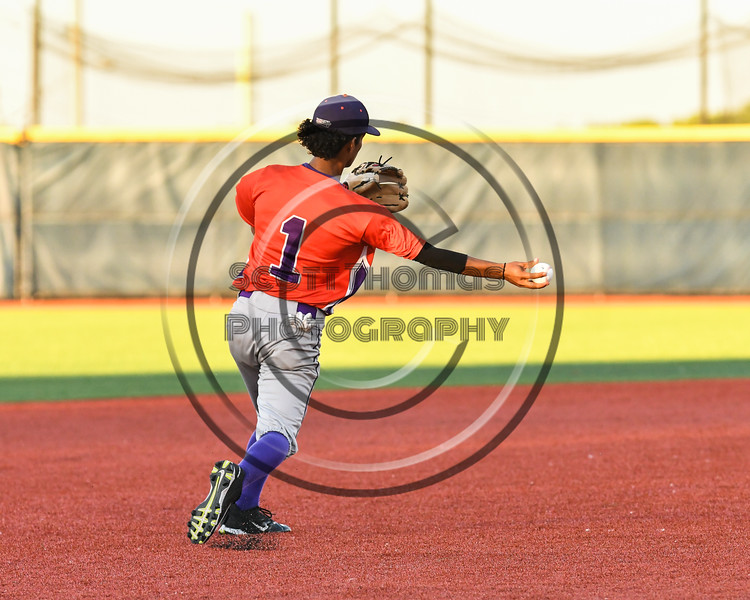 Cortland Crush Iset Maldonado (1) starts a Double Play against the Syracuse Salt Cats at OCC Turf Field in Syracuse, New York on Thursday, June 21, 2018. Syracuse won 6-2.