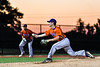 Cortland Crush Maxwell Tannebaum (23) ptiching against the Syracuse Salt Cats at OCC Turf Field in Syracuse, New York on Thursday, June 21, 2018. Syracuse won 6-2.